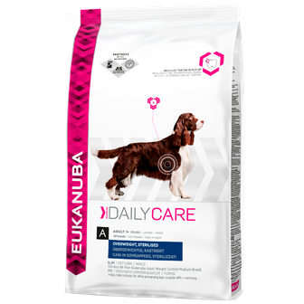 ADULT DOG FOOD FOR OVERWEIGHT OR STERILISED DOGS
